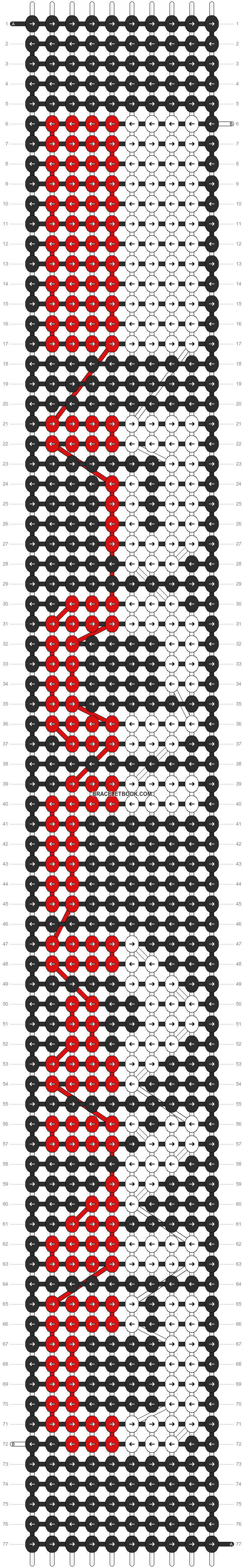 Alpha pattern #11354 pattern
