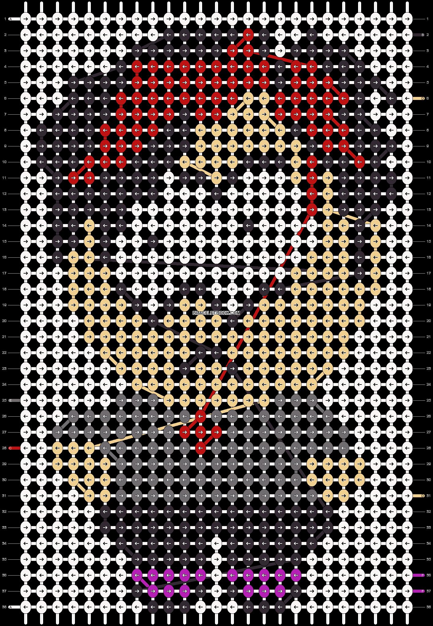 Alpha pattern #11358 pattern
