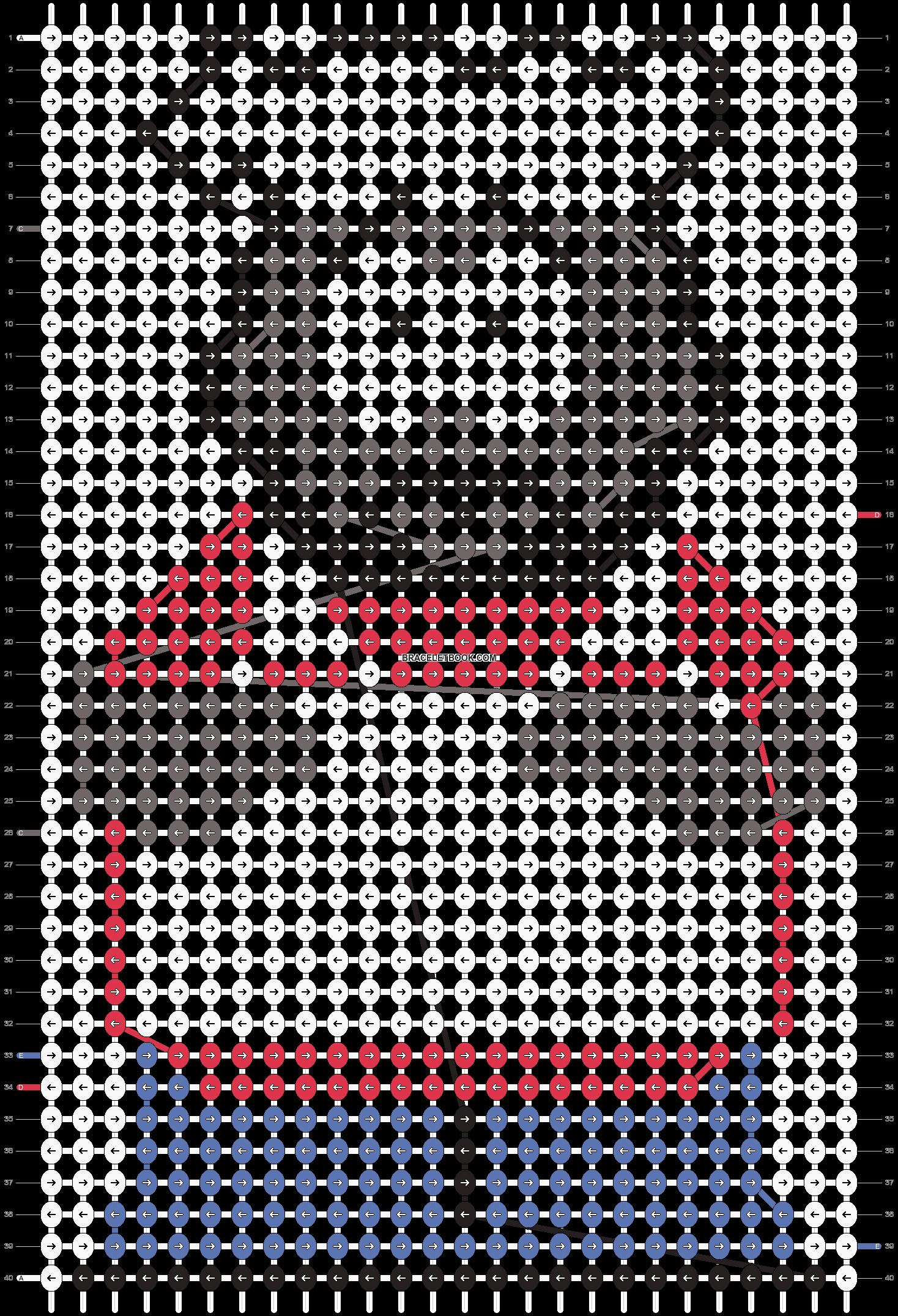 Alpha pattern #11363 pattern