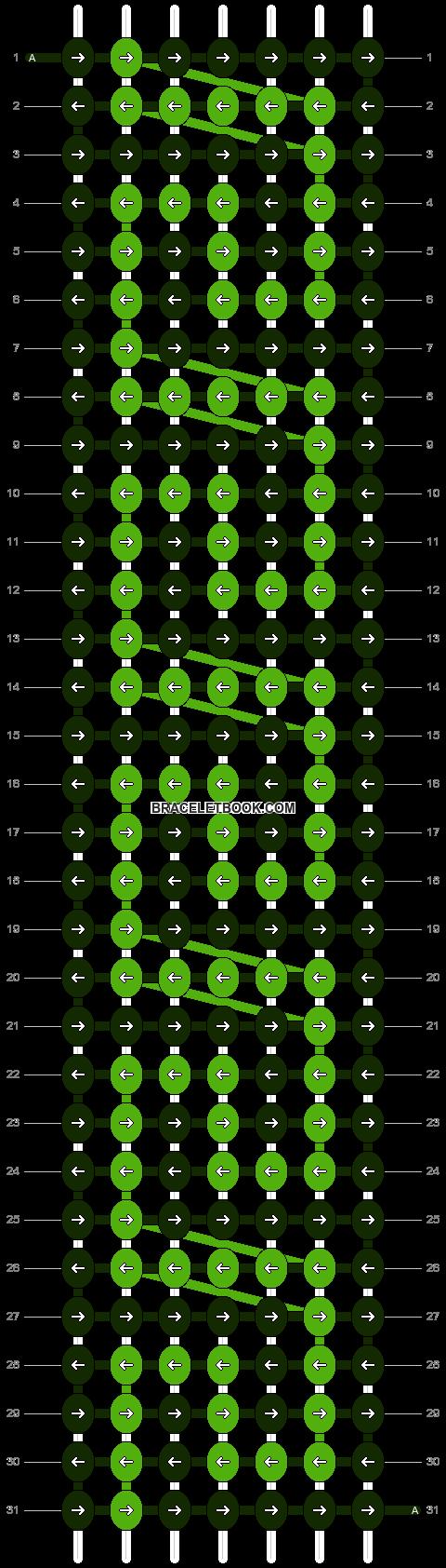 Alpha pattern #11365 pattern