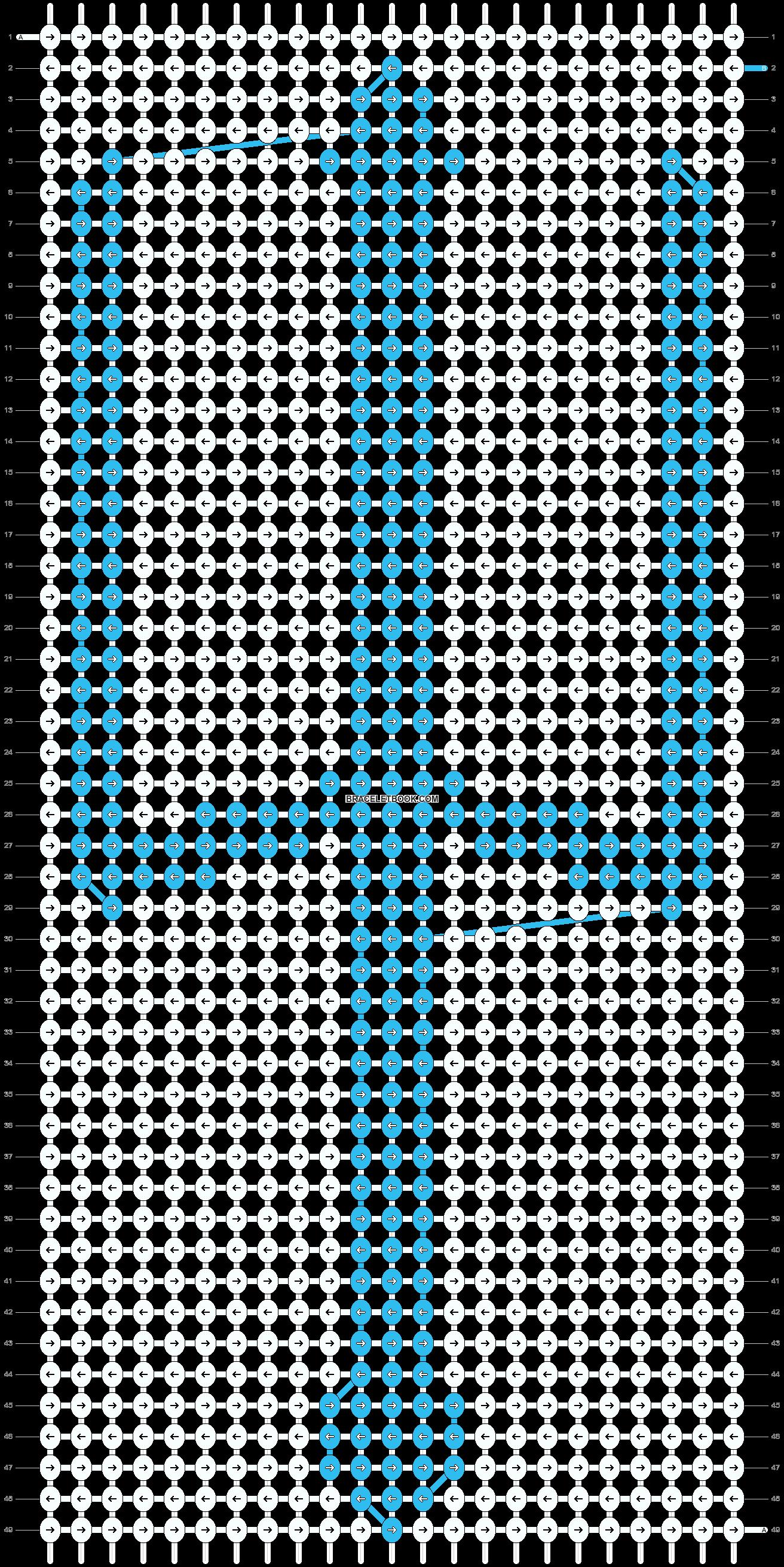 Alpha pattern #11367 pattern