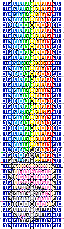 Alpha pattern #11373 pattern
