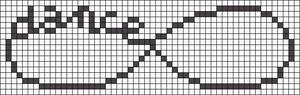 Alpha Friendship Bracelet Pattern #11375