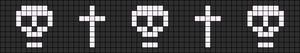 Alpha Friendship Bracelet Pattern #11379
