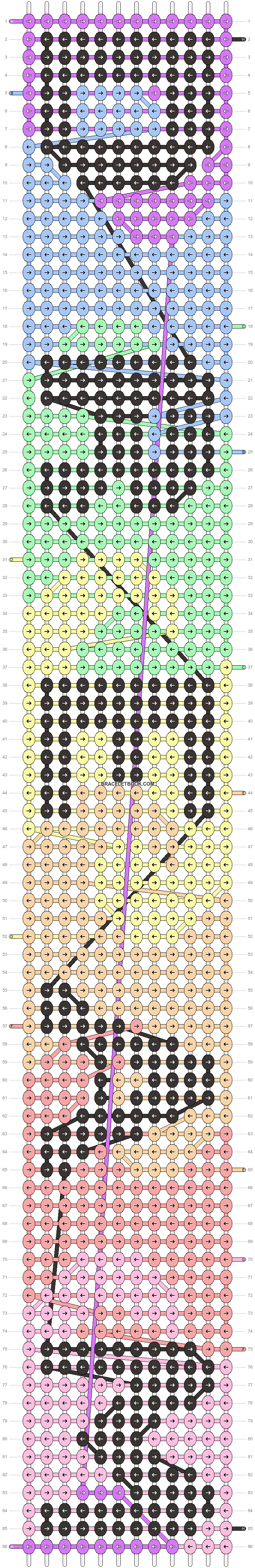 Alpha pattern #11383 pattern