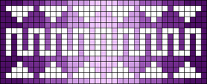 Alpha Friendship Bracelet Pattern #11384