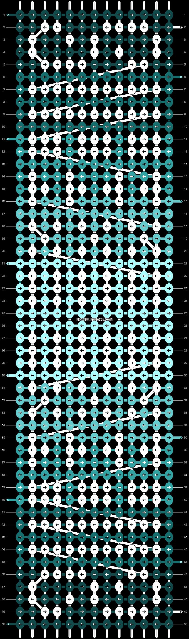 Alpha pattern #11385 pattern