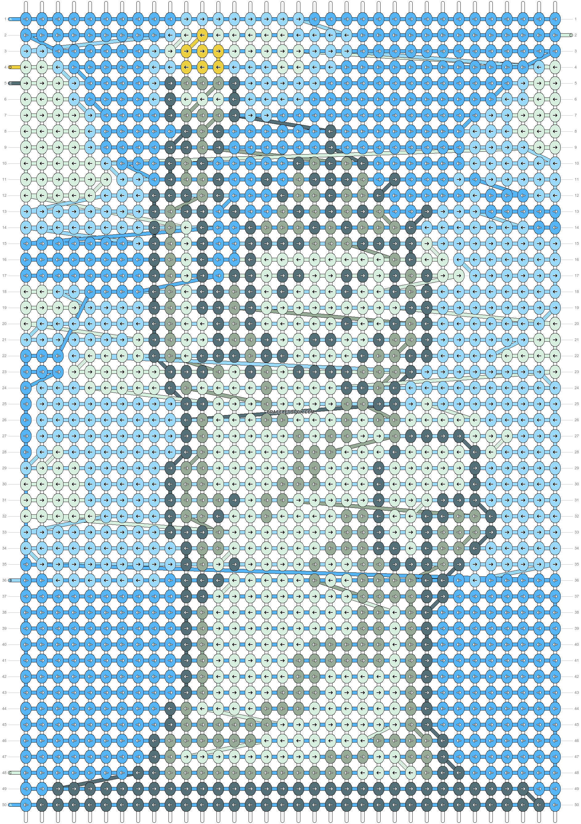 Alpha pattern #11386 pattern