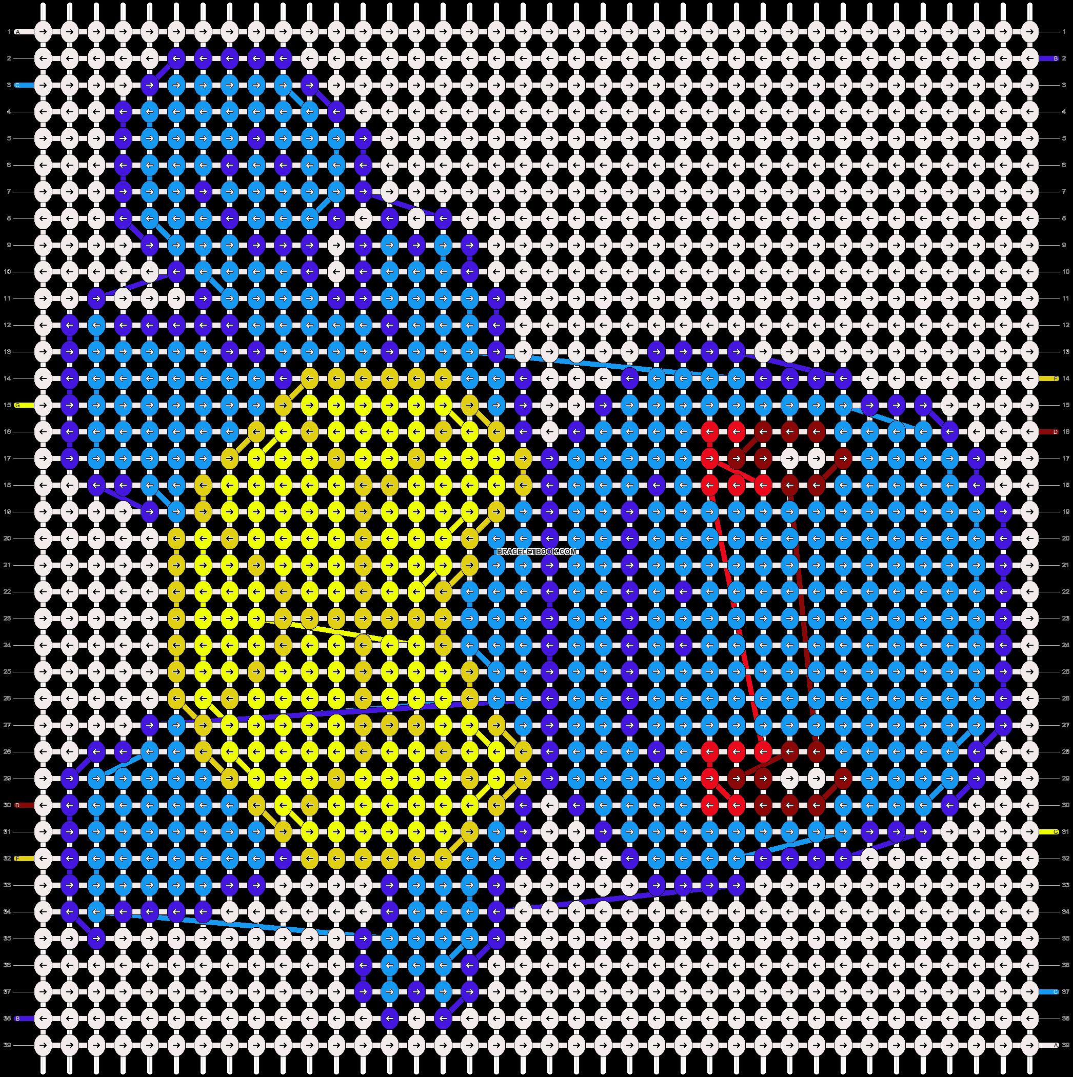 Alpha pattern #11387 pattern