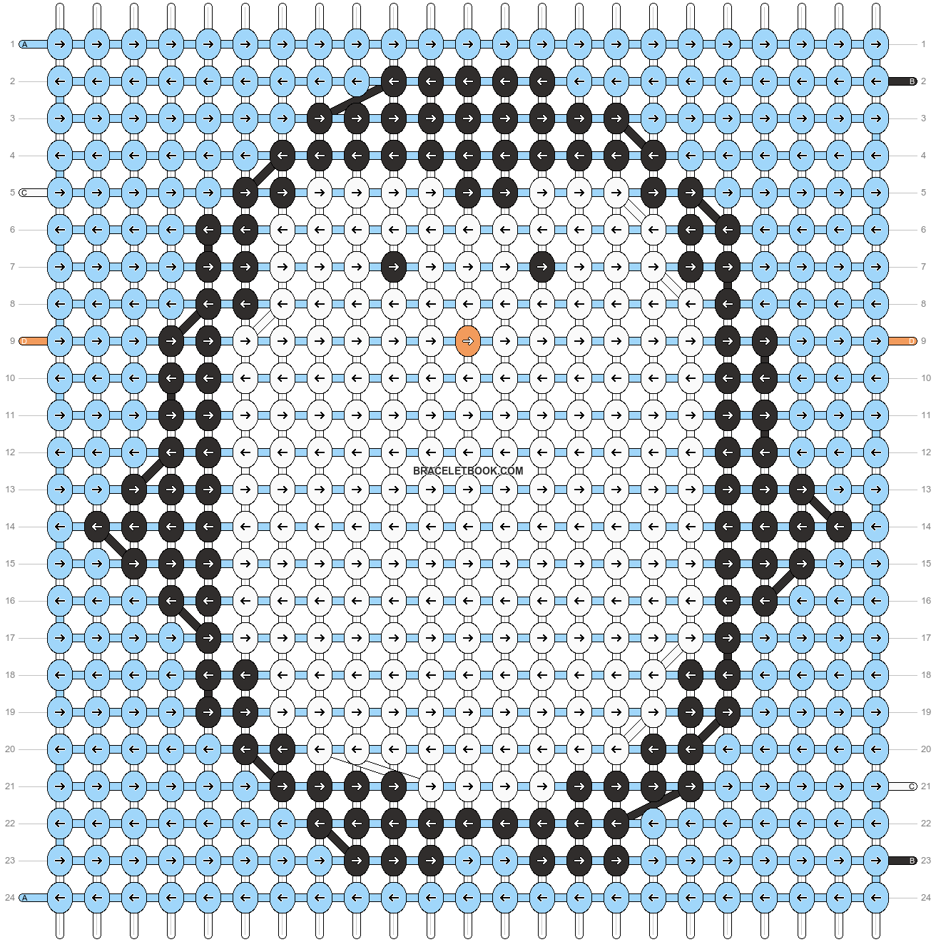 Alpha pattern #11391 pattern