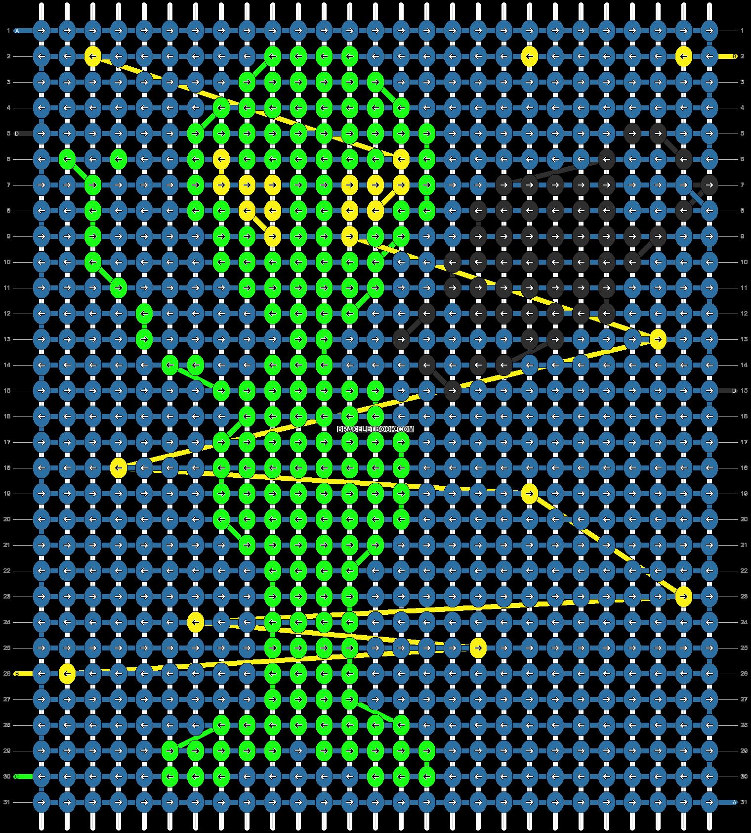Alpha pattern #11396 pattern