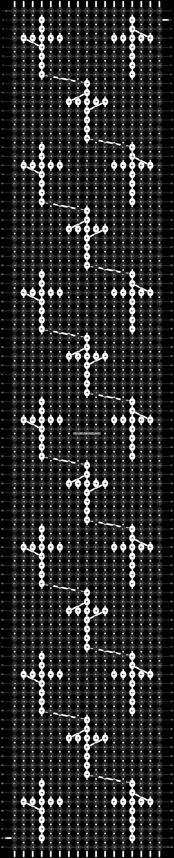 Alpha pattern #11401 pattern