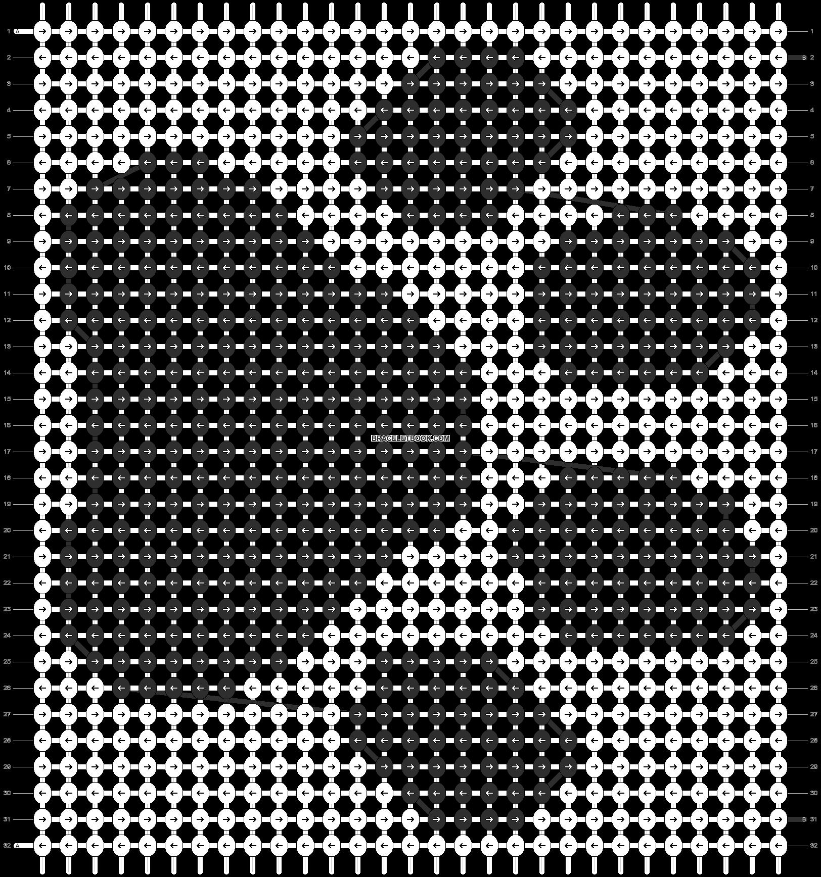 Alpha pattern #11403 pattern