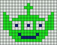 Alpha pattern #11405