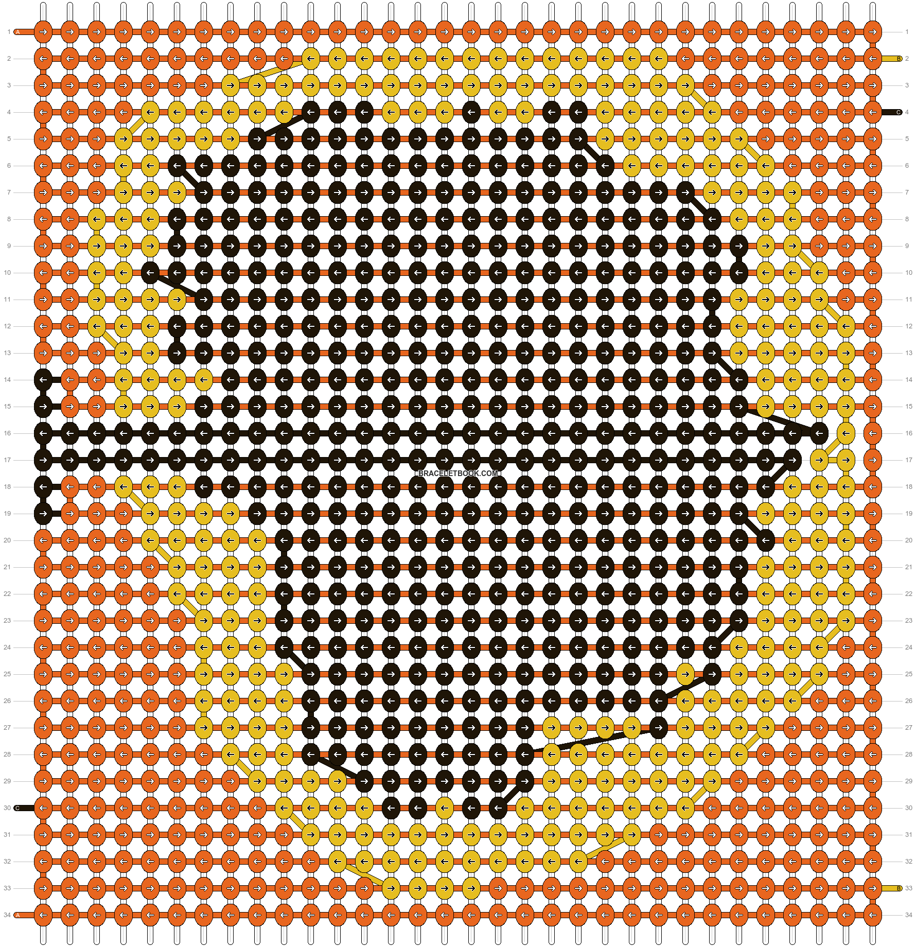 Alpha pattern #11408 pattern
