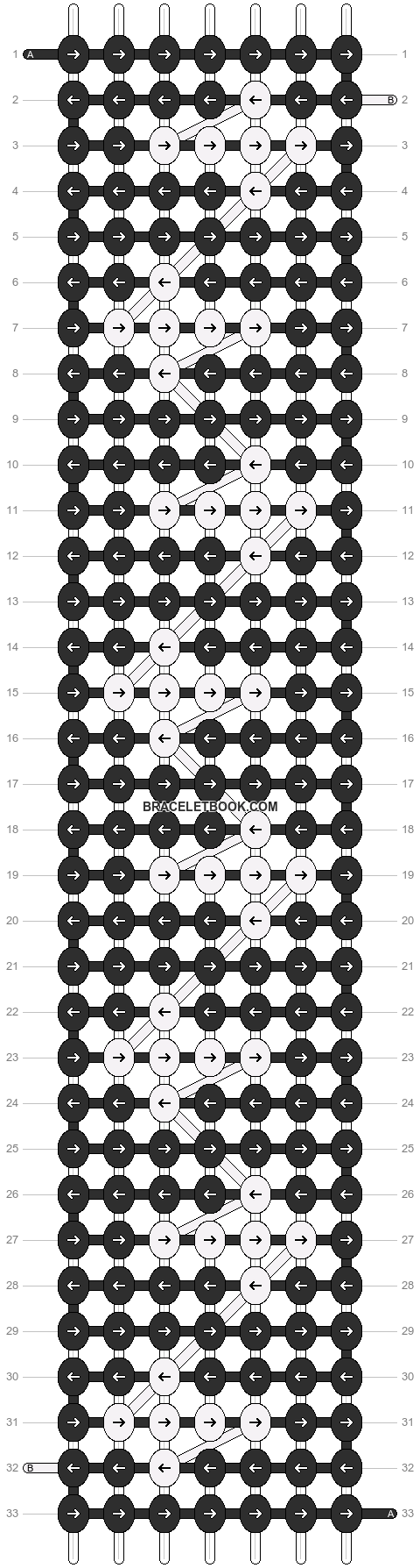 Alpha pattern #11409 pattern