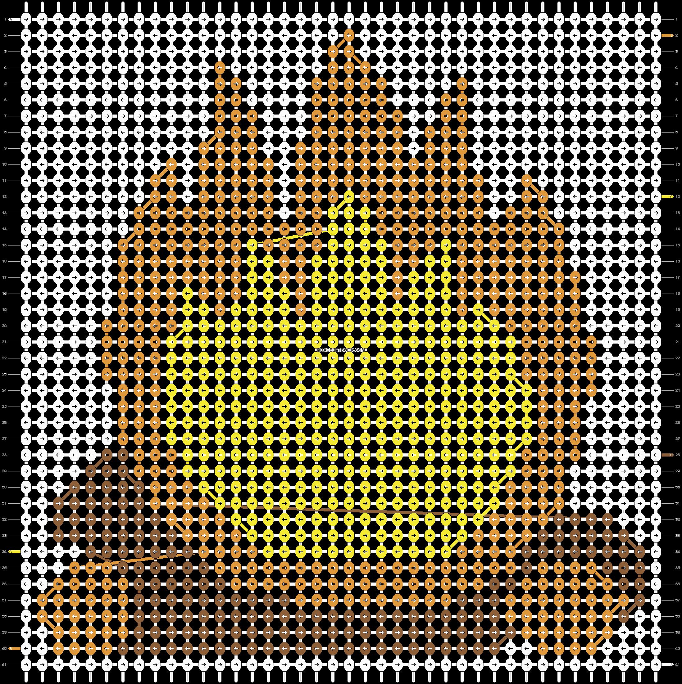 Alpha pattern #11410 pattern