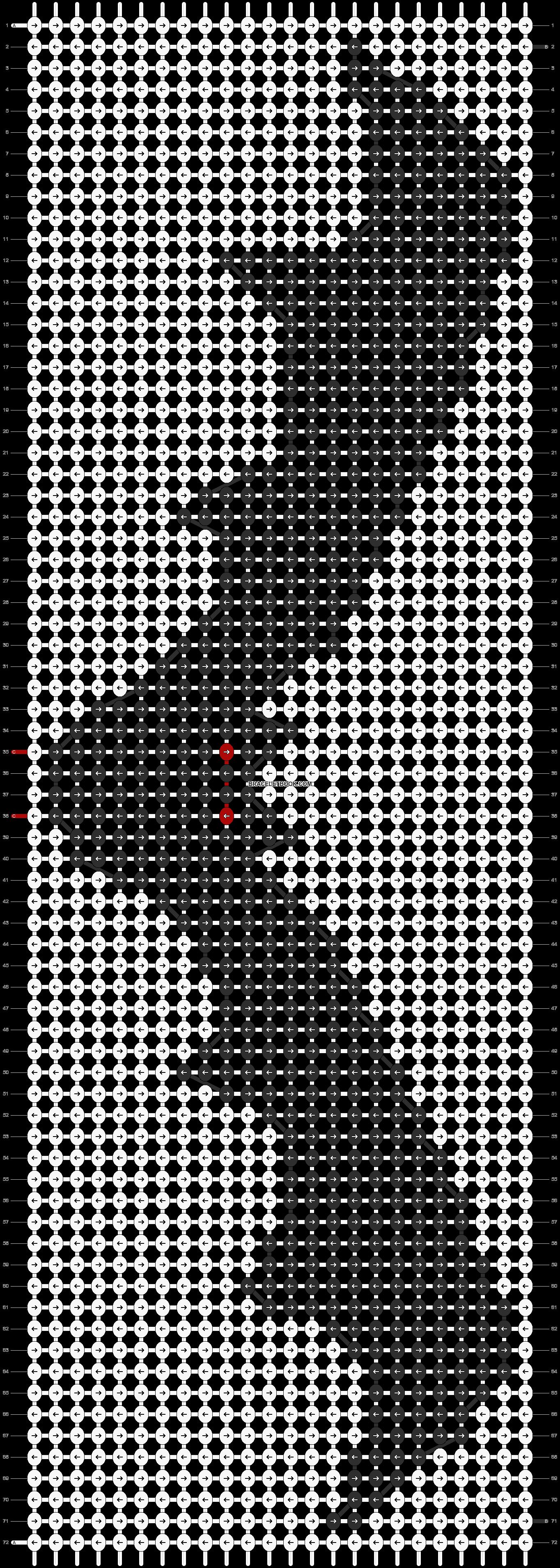 Alpha pattern #11412 pattern