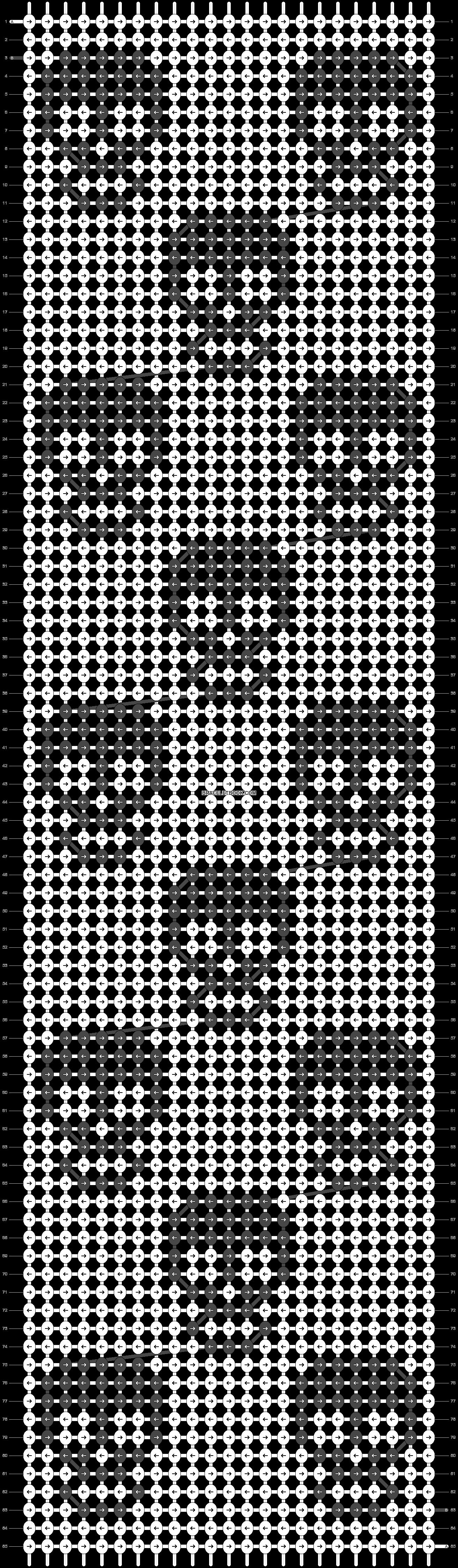 Alpha pattern #11413 pattern