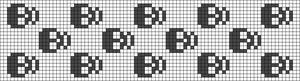 Alpha Friendship Bracelet Pattern #11413