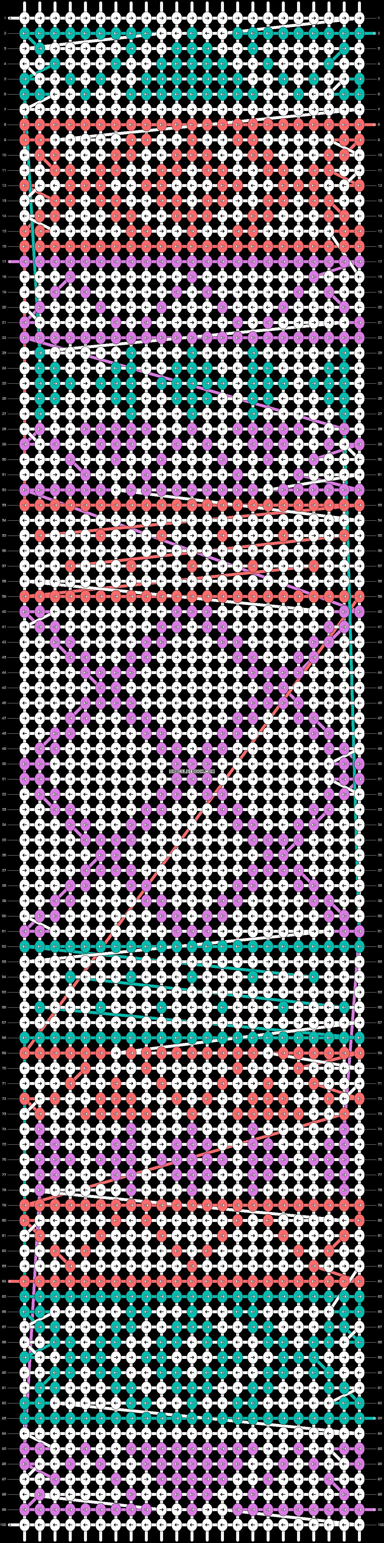 Alpha pattern #11419 pattern