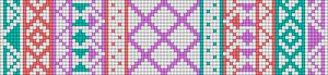 Alpha pattern #11419