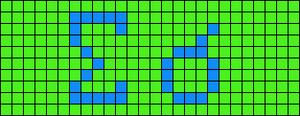 Alpha pattern #11432