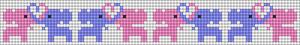 Alpha Friendship Bracelet Pattern #11456