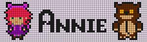 Alpha pattern #11457