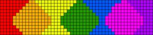Alpha Friendship Bracelet Pattern #11458