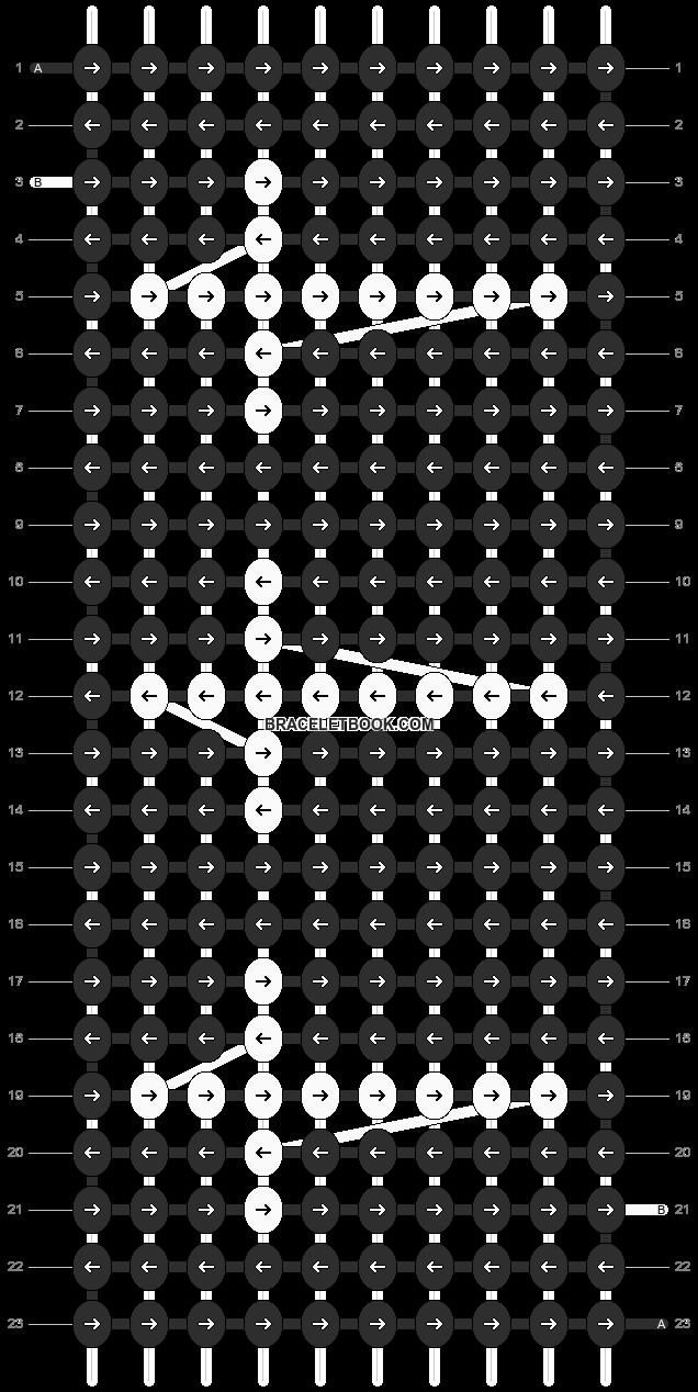 Alpha pattern #11460 pattern