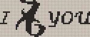 Alpha Friendship Bracelet Pattern #11463