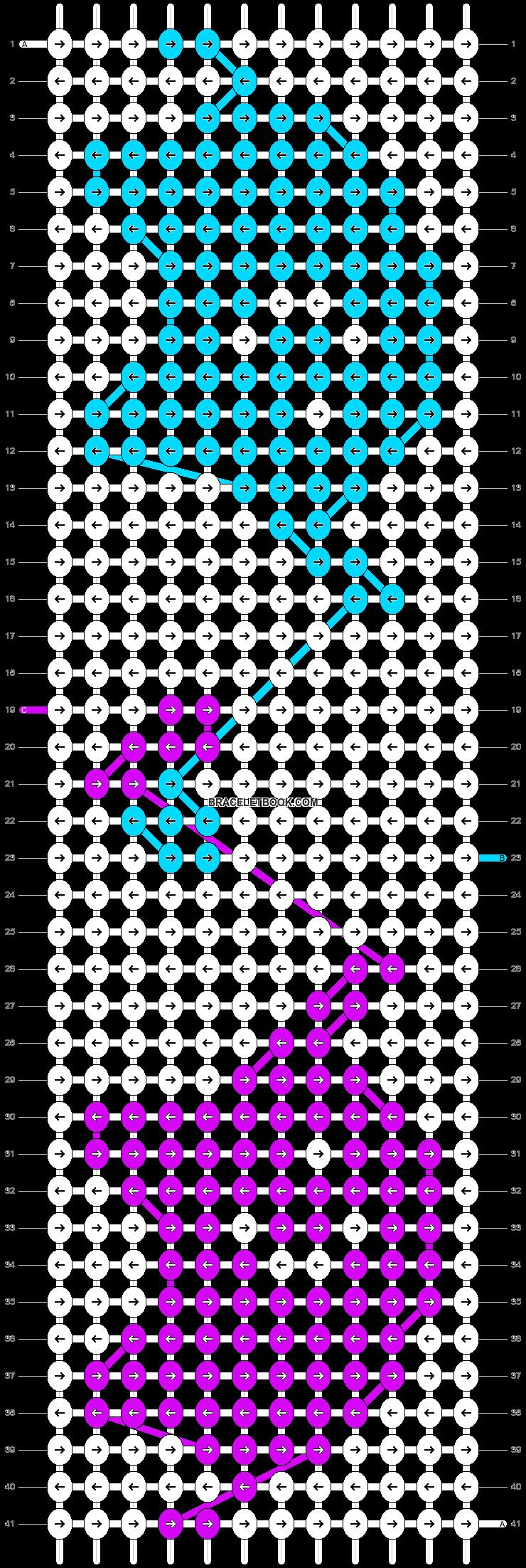 Alpha pattern #11464 pattern