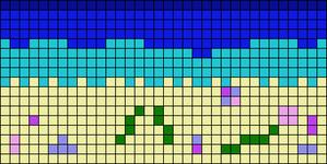 Alpha Friendship Bracelet Pattern #11466