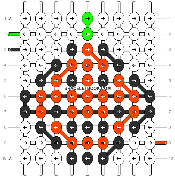 Alpha pattern #11468 pattern