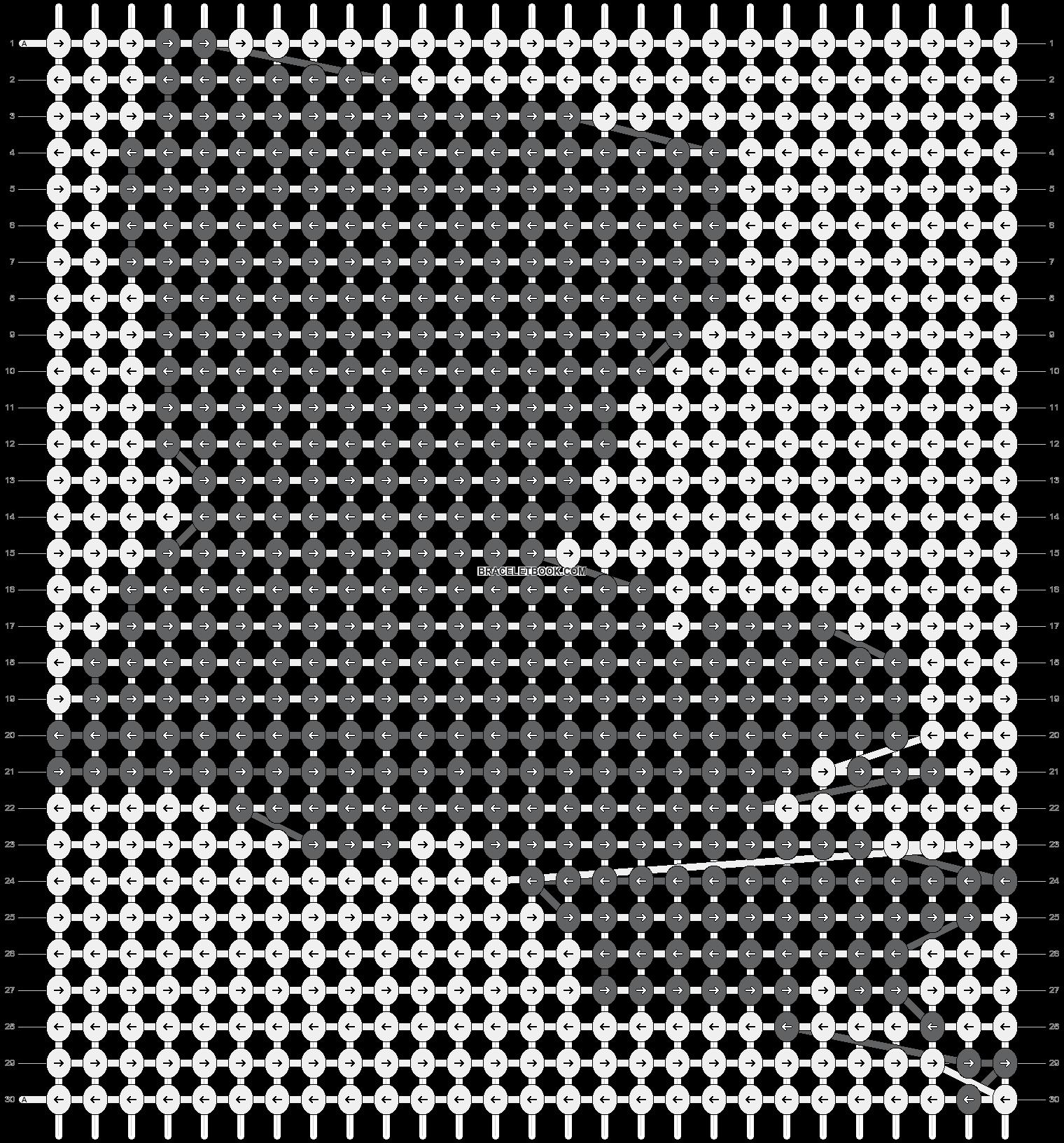 Alpha pattern #11470 pattern