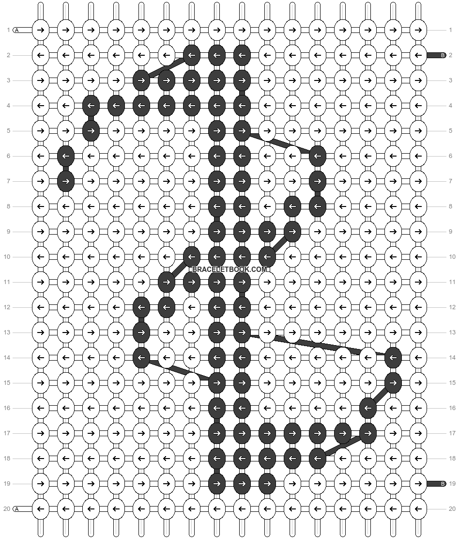 Alpha pattern #11472 pattern