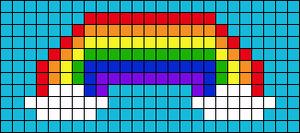 Alpha Friendship Bracelet Pattern #11483