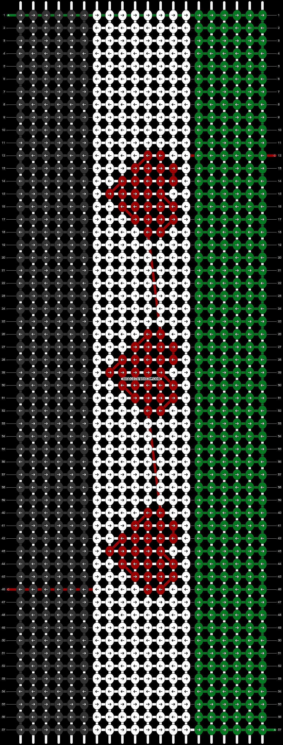 Alpha pattern #11485 pattern