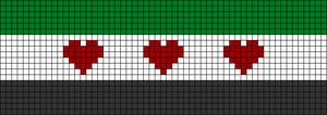 Alpha Friendship Bracelet Pattern #11485