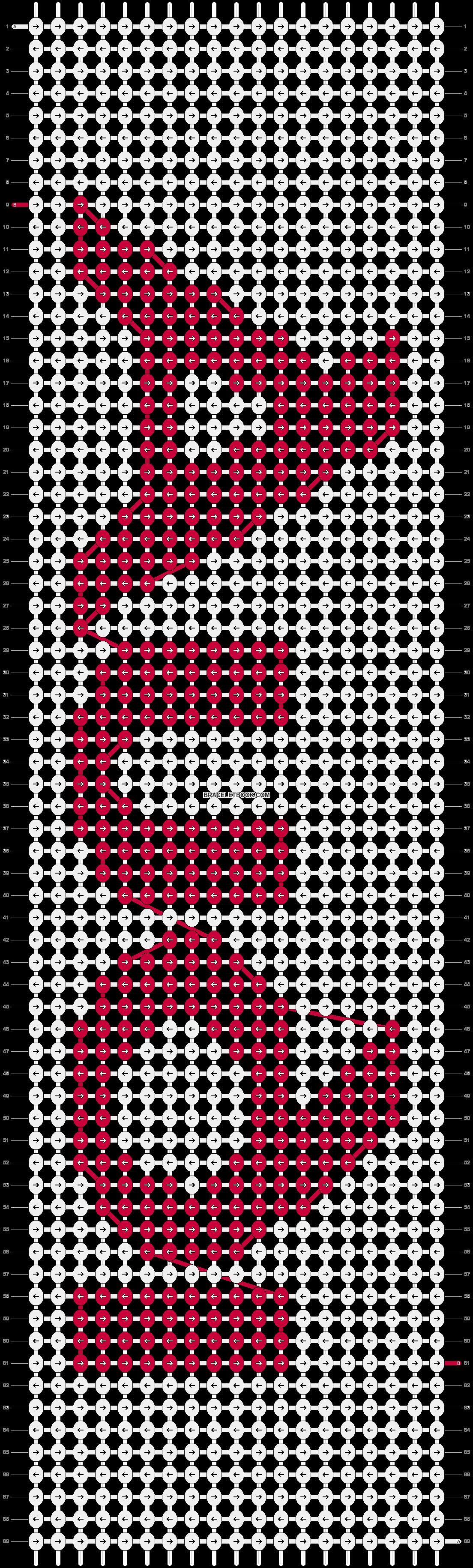 Alpha pattern #11486 pattern