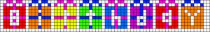 Alpha pattern #11491