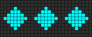 Alpha Friendship Bracelet Pattern #11492
