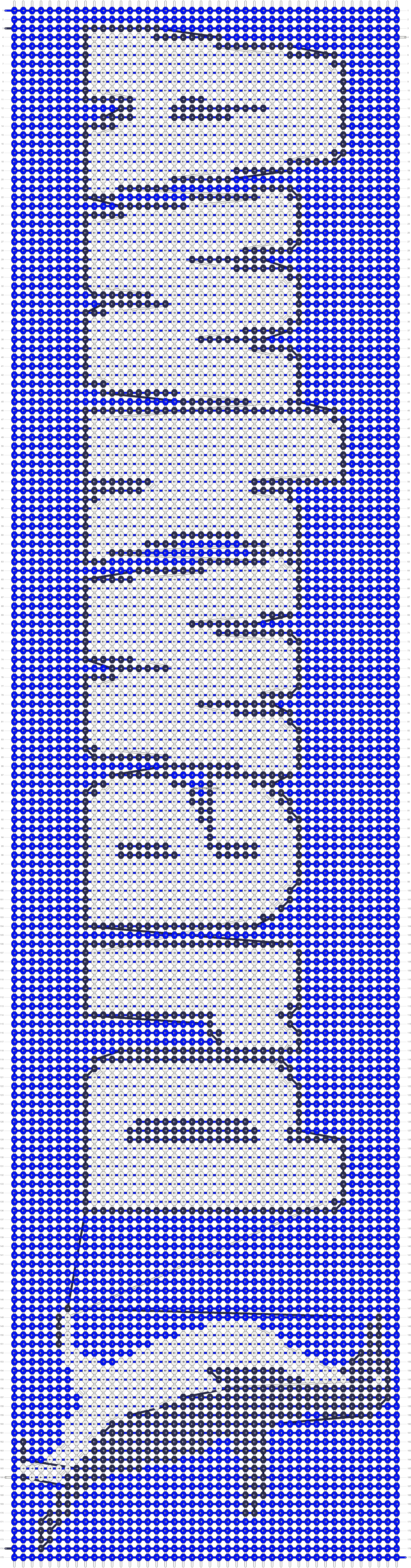 Alpha pattern #11504 pattern
