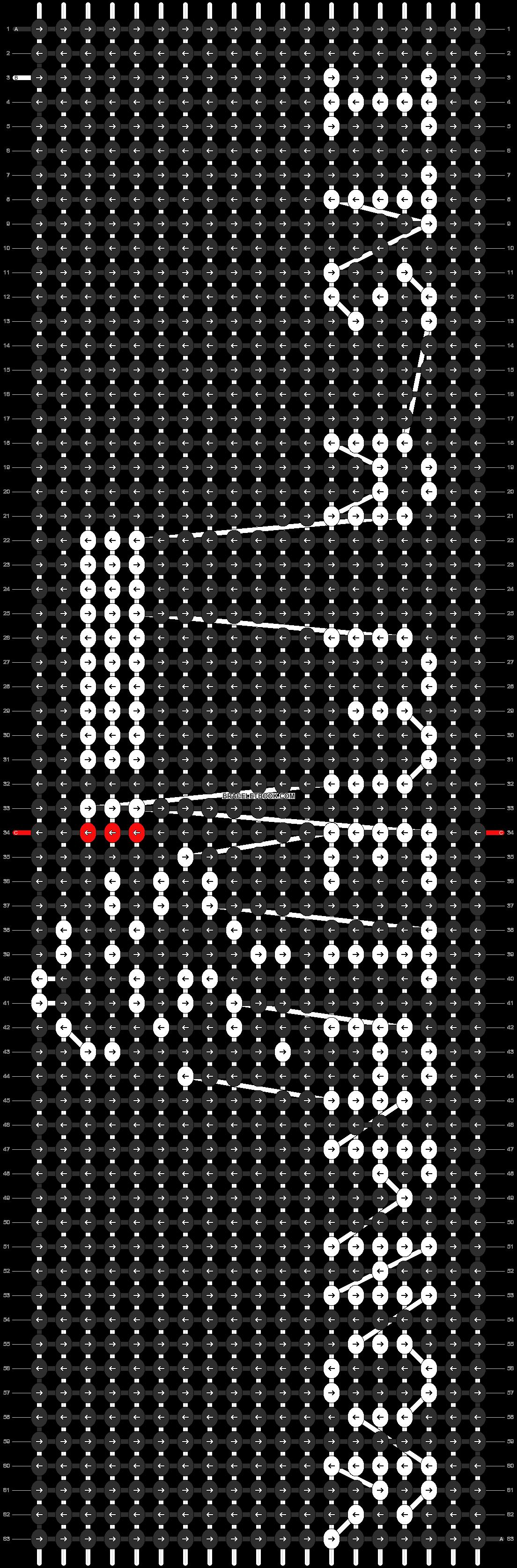 Alpha pattern #11508 pattern