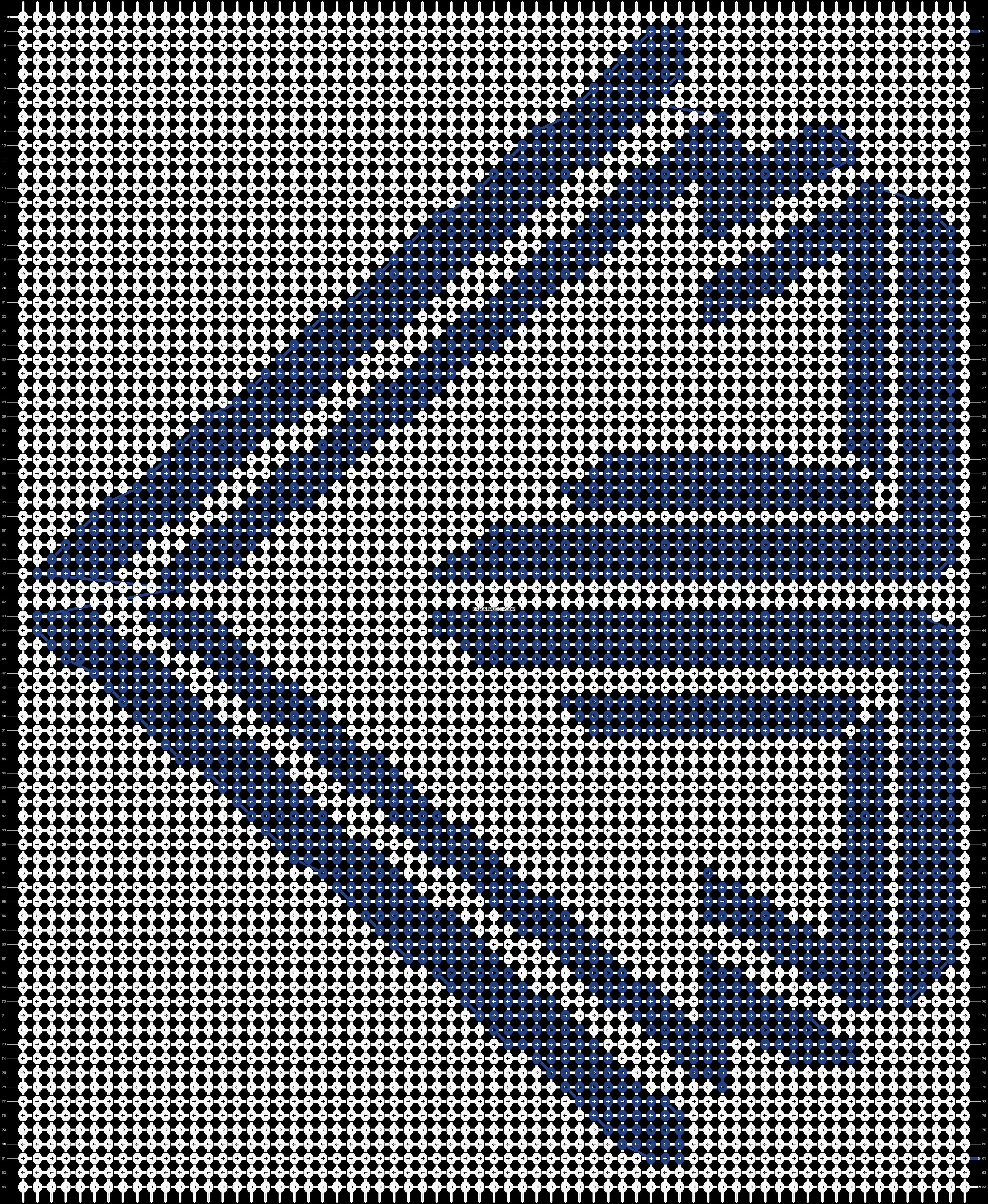Alpha pattern #11509 pattern