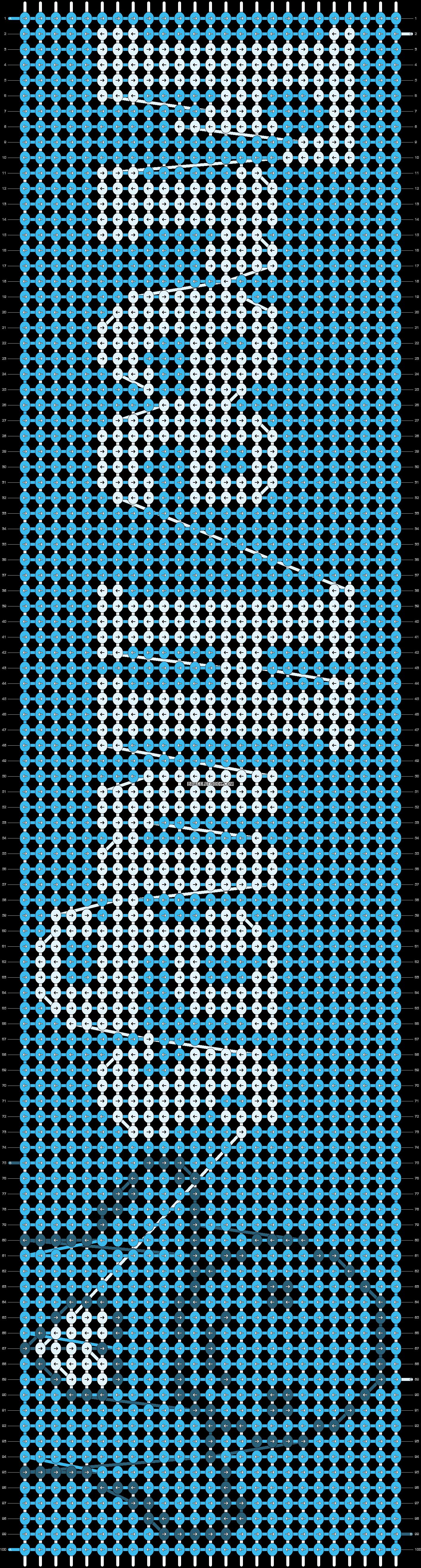 Alpha pattern #11512 pattern