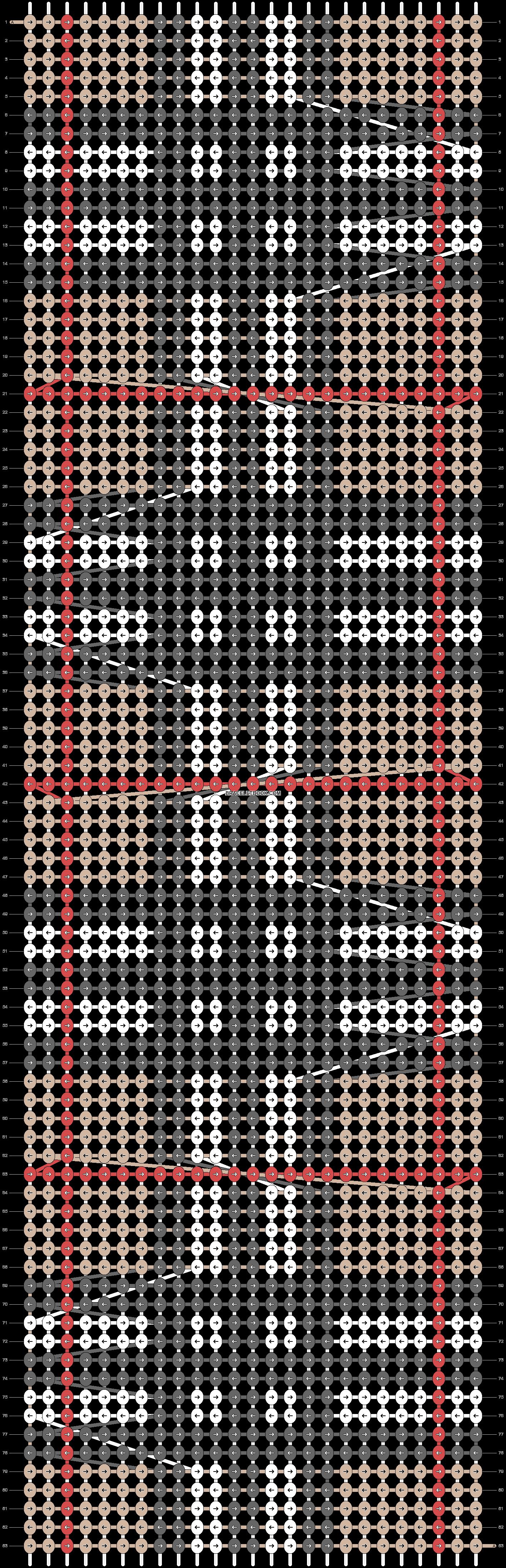 Alpha pattern #11514 pattern