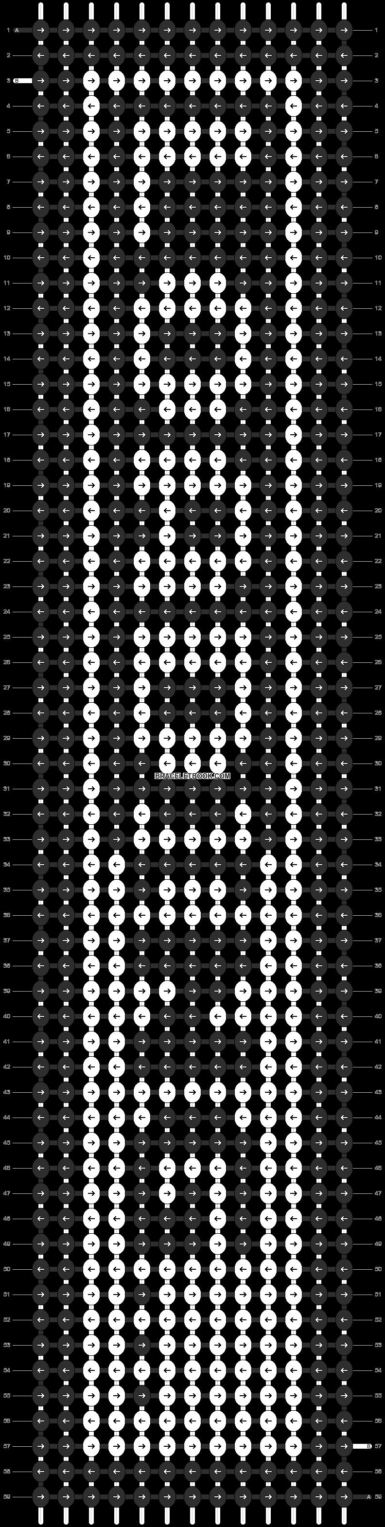 Alpha pattern #11516 pattern