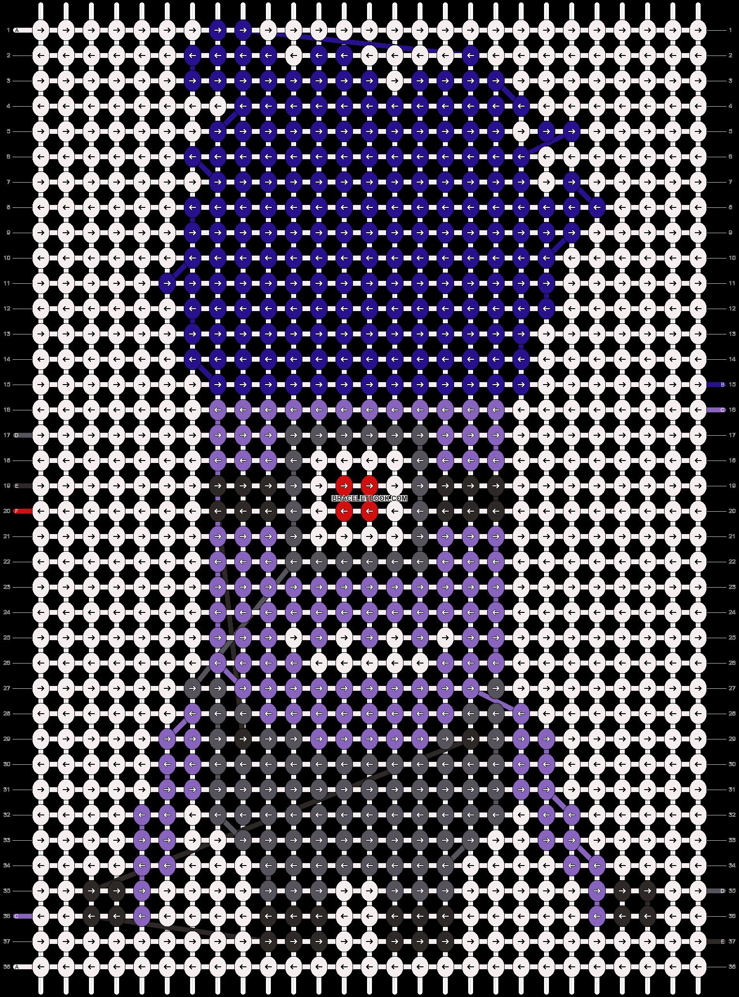 Alpha pattern #11521 pattern